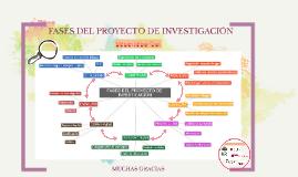 FASES DEL PROYECTO DE INVESTIGACIÓN
