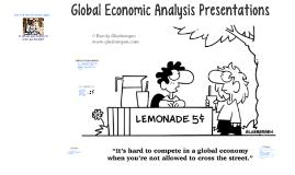 Global Economic Analysis Presentations