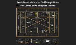 Granite Education Foundation Excel Evening of Honors