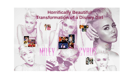 Horifically Beautiful Transformation of a Disney Girl
