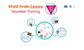 Volunteer training Pride Centre SFUO