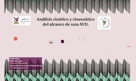 Análisis cinético y cinemático del alcance de una AVD.