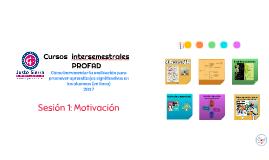 Cursos  intersemestrales PROFAD