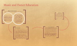 Copy of Music and Dance Education