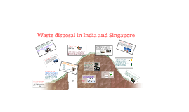 Copy of Waste disposal in India and Sg