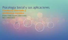 Psicologia Social y sus aplicaciones