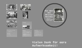 Die Oper des Dritten Reiches