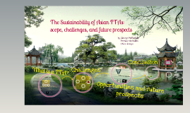 Copy of The sustainability of FTAs