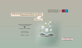 Análisis de las páginas web de las bibliotecas universitarias de la provincia de Santa Fe