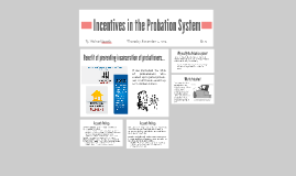 Incentives in the Probation System