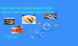 Which parameters do we have to see before to buy a fish?