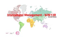 International Management - WIN13B