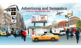Advertising and Semantics