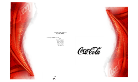 Copy of Estrategia Corporativa: Coca-Cola