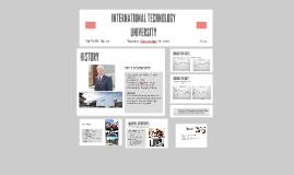 ITU UNIVERSITY