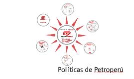 Politicas de Petroperu