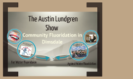Community fluoridation