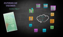 Copy of ESTUDIO DE VALORES
