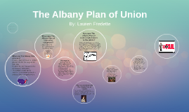 Copy of Copy of The Albany Plan of Union