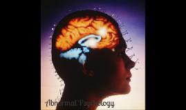 Copy of Abnormal Psychology