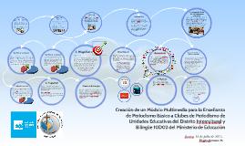 Creación de un Módulo Multimedia para la Enseñanza de Period