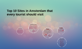 Top 10 Sites in Amsterdam that every tourist should visit