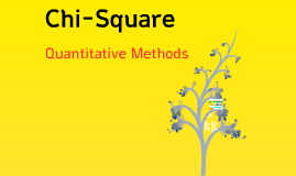 Copy of Quantitative Methods - Chapter 9: Chi-Square