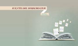 Copy of FUENTES DEL DERECHO CIVIL