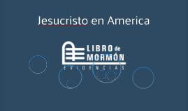 Jesucristo en America