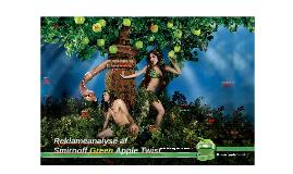Reklameanalyse af Smirnoff Green Apple Twist