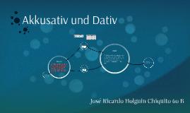 Akkusativ und Dativ