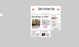 Client Practitioner Times