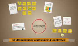 Separating and Retaining Employees