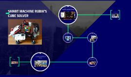 SMART MACHINE RUBIK'S CUBE SOLVER