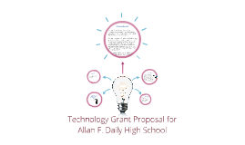 Technology Grant for Allan F. Daily High School