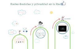 Redes Sociales y privacidad en la Red v2