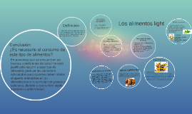 Los alimentos light