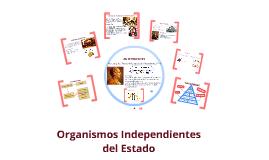 organismos independientes del estado