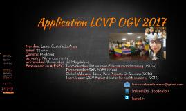 Aplicación lcvp ogv