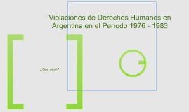 Período 1976 - 1983
