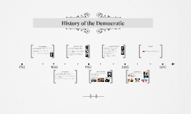 History of the Democratic