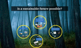 Copy of Is a sustainable future possible?
