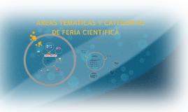 Copy of Copy of AREAS TEMATICAS Y CATEGORIAS DE FERIA CIENTIFICA
