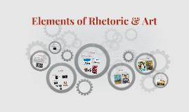 Elements of Rhetoric & Art