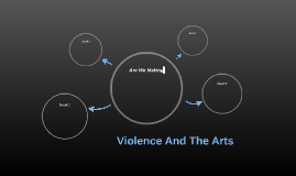 Violence And The Arts