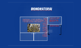 Bioindikatoriai
