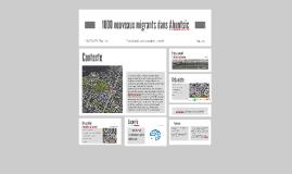 1000 nouveaux migrants dans Ahunstic