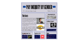PAY INEQUITY - WOMEN IN THE WORKPLACE
