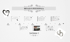 BELGIAN WEDDINGS