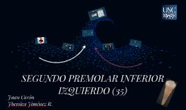 SEGUNDO PREMOLAR INFERIOR IZQUIERDO (35)